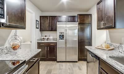 Kitchen, Heron Springs Townhomes and Apartments, 1