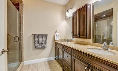 Bathroom, Riverfront At Cranford, 2
