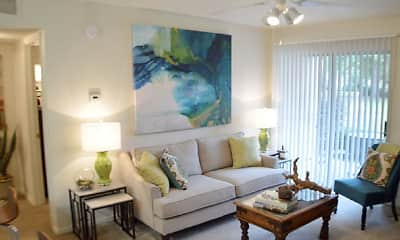 Living Room, Millicent Crossing Apartments, 0