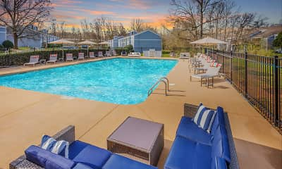 Pool, Villas at Riverview, 1