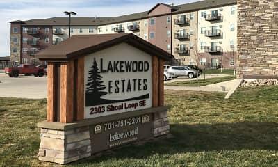 Community Signage, Lakewood Estates, 2