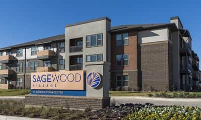Community Signage, SageWood Village, 0