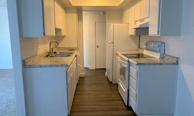Kitchen, Green Pines Apartments, 1