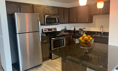 Kitchen, Galaxie High Rise Apartments, 0