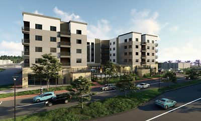 Rendering, The Flats at Leighton District, 0