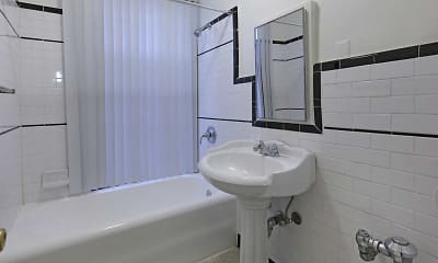 Bathroom, The Langham Apartments, 2