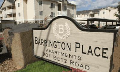 Community Signage, Barrington Place, 1