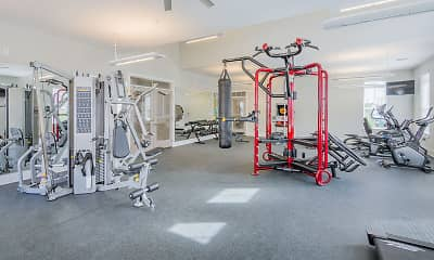 Fitness Weight Room, Park Circle Village, 2