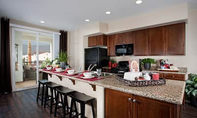 Kitchen, Santa Barbara Apartments, 0