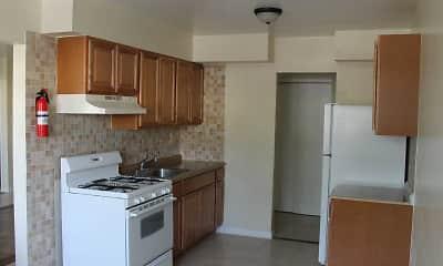Kitchen, Elmwood Park Apartments, 0