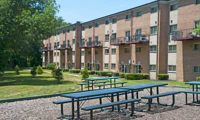 Courtyard, Southview, 1