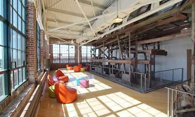 Fitness Weight Room, Roebling Lofts, 2
