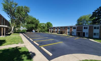 Building, Windcrest Apartments, 2