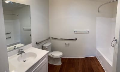 Bathroom, Lexington Square, 2