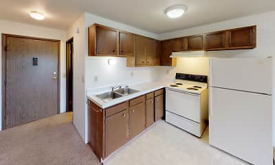 Kitchen, Frederick Apartments, 0