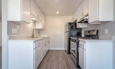 Kitchen, Ascot Park Apartments, 1