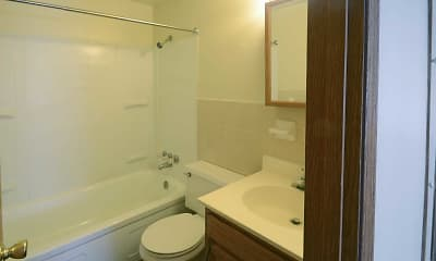 Bathroom, St Charles Court Apartments, 2