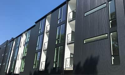 Building, Fairfax Flats, 1