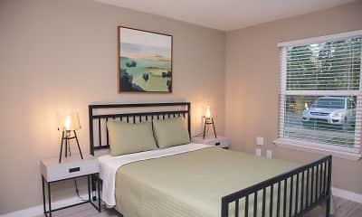 Bedroom, Renaissance Apartments, 1