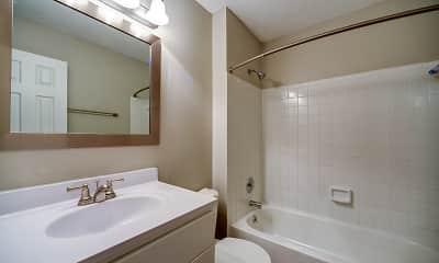 Bathroom, Woodland Creek, 2