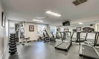 Fitness Weight Room, Willows Court, 1