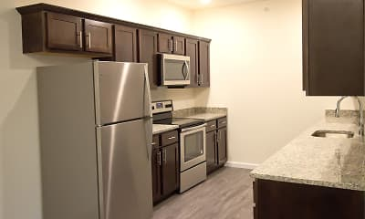Kitchen, 5 Mile Square Apartments, 0