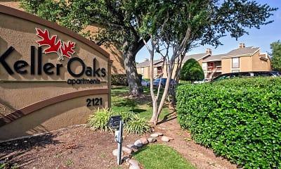 Community Signage, Keller Oaks Apartments, 2