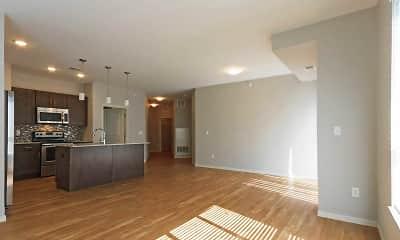Living Room, Aspen Lofts, 1