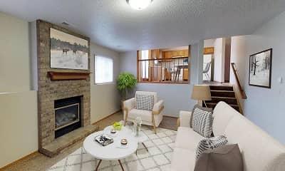 Living Room, Cottage West, 0