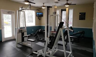 Fitness Weight Room, Village Lakes At Lake Orlando, 2