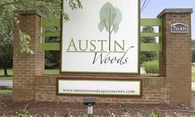 Community Signage, Austin Woods, 2