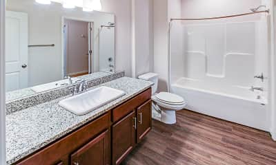 Bathroom, Logan's Landing, 2