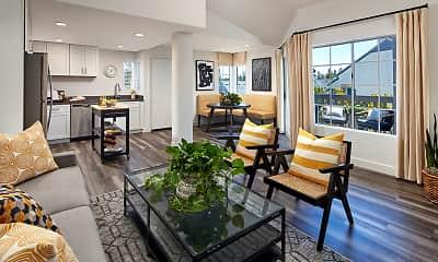 Living Room, Seaside At Laguna Heights, 0