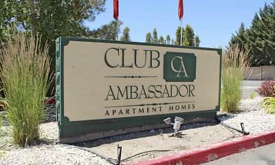 Community Signage, Club Ambassador, 2