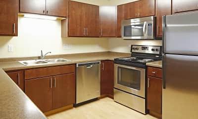 Kitchen, West Lake III Apartments, 0