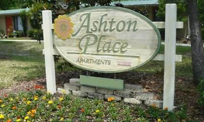 Community Signage, Ashton Place Apartments, 0
