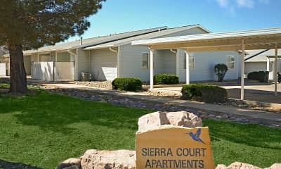 Community Signage, Sierra Court Apartments, 1