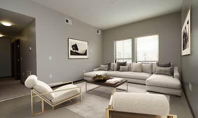 Living Room, 1501 Jackson, 1
