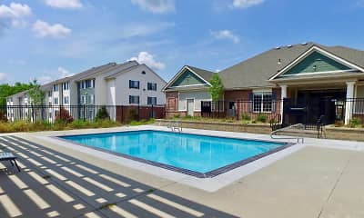 Pool, Pine Tree Apartments, 0