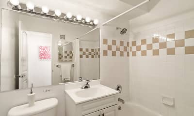 Bathroom, The Residences on Bedford, 2