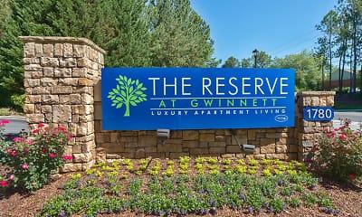 Community Signage, The Reserve at Gwinnett, 2