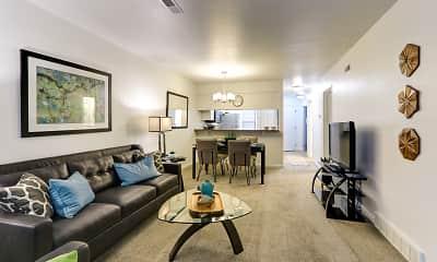 Living Room, Laurel Valley, 1