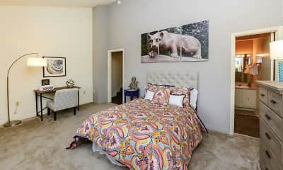 Bedroom, Briarwood Apartments & Townhomes, 1