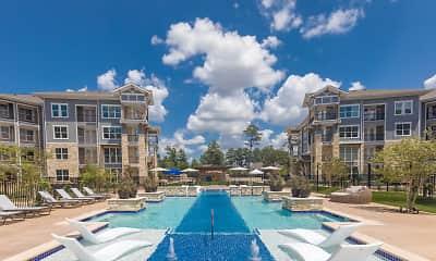 Pool, Creekside Park Residences, 1