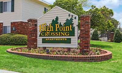 Community Signage, High Point Crossing, 1