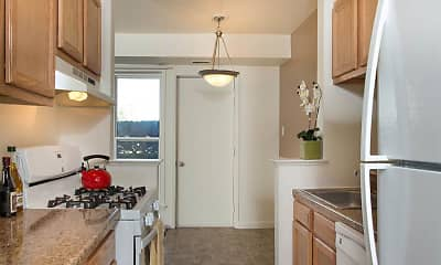 Kitchen, Hillcrest Village, 1