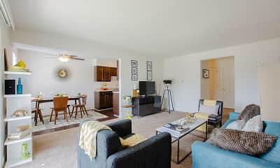 Living Room, Hamilton Square, 1