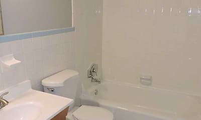 Bathroom, Township Village Apartments, 2