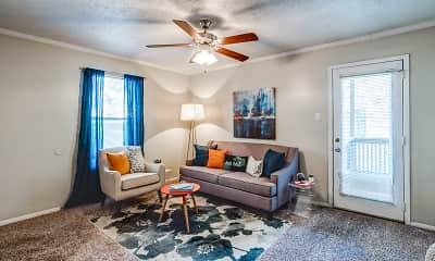 Living Room, Emberwood Apartments, 1