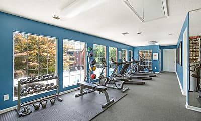 Fitness Weight Room, Turtle Lake, 1